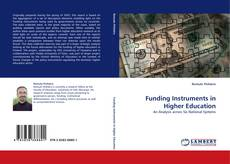 Capa do livro de Funding Instruments in Higher Education