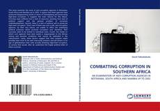 Bookcover of COMBATTING CORRUPTION IN SOUTHERN AFRICA