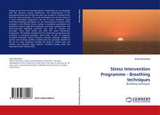 Buchcover von Stress Intervention Programme - Breathing techniques