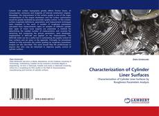 Capa do livro de Characterization of Cylinder Liner Surfaces