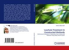 Capa do livro de Leachate Treatment In Constructed Wetlands