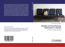 Bookcover of Quality of Free Primary Education in Kenya