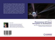 Buchcover von Phenomenon Of Visual Perception In Architecture
