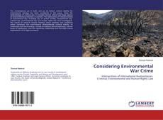 Considering Environmental War Crime的封面