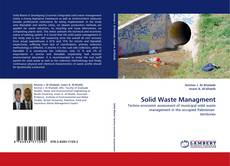 Bookcover of Solid Waste Managment