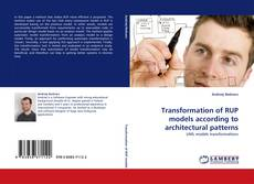 Capa do livro de Transformation of RUP models according to architectural patterns