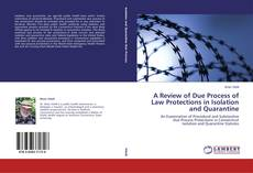 Bookcover of A Review of Due Process of Law Protections in Isolation and Quarantine