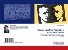Buchcover von Russian-speaking Population in the Baltic States