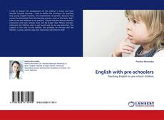 Bookcover of English with pre-schoolers