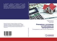 Bookcover of Ремарки к основам устойчивости предприятия