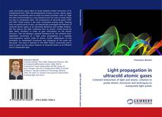 Bookcover of Light propagation in ultracold atomic gases