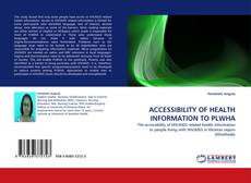 Buchcover von ACCESSIBILITY OF HEALTH INFORMATION TO PLWHA