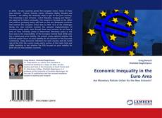 Bookcover of Economic Inequality in the Euro Area