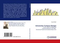 Bookcover of University Campus Design