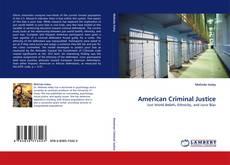 Portada del libro de American Criminal Justice