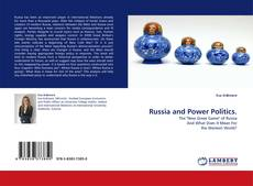 Bookcover of Russia and Power Politics.