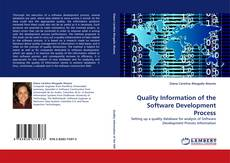 Buchcover von Quality Information of the Software Development Process