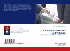 Portada del libro de CORPORATE GOVERNANCE AND CULTURE