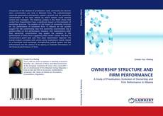 Portada del libro de OWNERSHIP STRUCTURE AND FIRM PERFORMANCE