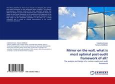 Bookcover of Mirror on the wall, what is most optimal post-audit framework of all?