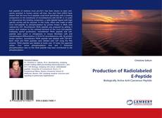 Portada del libro de Production of Radiolabeled E-Peptide