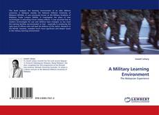 Bookcover of A Military Learning Environment