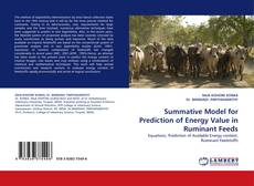Обложка Summative Model for Prediction of Energy Value in Ruminant Feeds