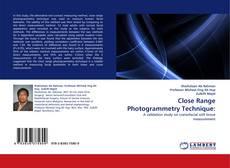 Portada del libro de Close Range Photogrammetry Technique: