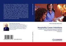 Couverture de Hospitality Career Intentions