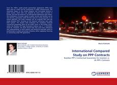 Couverture de International Compared Study on PPP Contracts