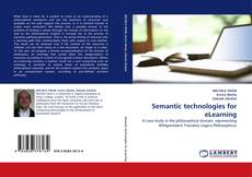 Bookcover of Semantic technologies for eLearning