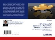 Bookcover of Hybrid Model of Optimization Algorithms: Concept and Derivation