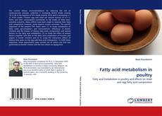 Couverture de Fatty acid metabolism in poultry