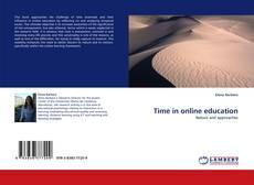 Capa do livro de Time in online education