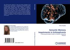 Buchcover von Semantic Memory Impairments in Schizophrenia