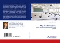 Buchcover von Why Did They Leave?