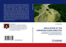 Bookcover of IMPLICATION OF THE EUROPEAN FLOOD DIRECTIVE