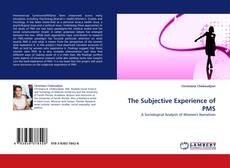 Bookcover of The Subjective Experience of PMS