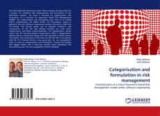 Copertina di Categorisation and formulation in risk management