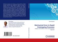 Обложка Mechanical Error in Rapid Prototyping Processes