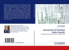 Bookcover of Assessment of Drinking Water Quality