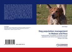 Buchcover von Dog population management in Malawi and Peru