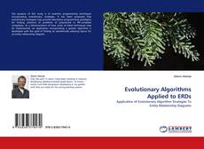 Portada del libro de Evolutionary Algorithms Applied to ERDs