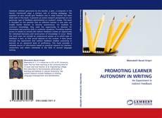 Обложка PROMOTING LEARNER AUTONOMY IN WRITING