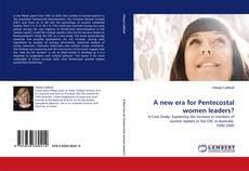 Couverture de A new era for Pentecostal women leaders?