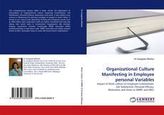 Borítókép a  Organizational Culture Manifesting in Employee personal Variables - hoz