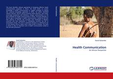 Bookcover of Health Communication