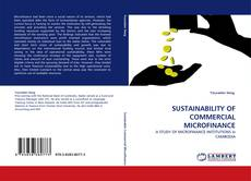 Couverture de SUSTAINABILITY OF COMMERCIAL MICROFINANCE