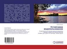 Bookcover of Устойчивое водопользование