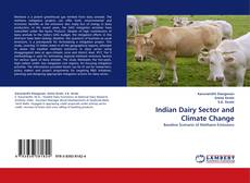 Bookcover of Indian Dairy Sector and Climate Change